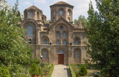 """Христофор Българина и църквата """"Панагия Халкеон"""" в Солун"""